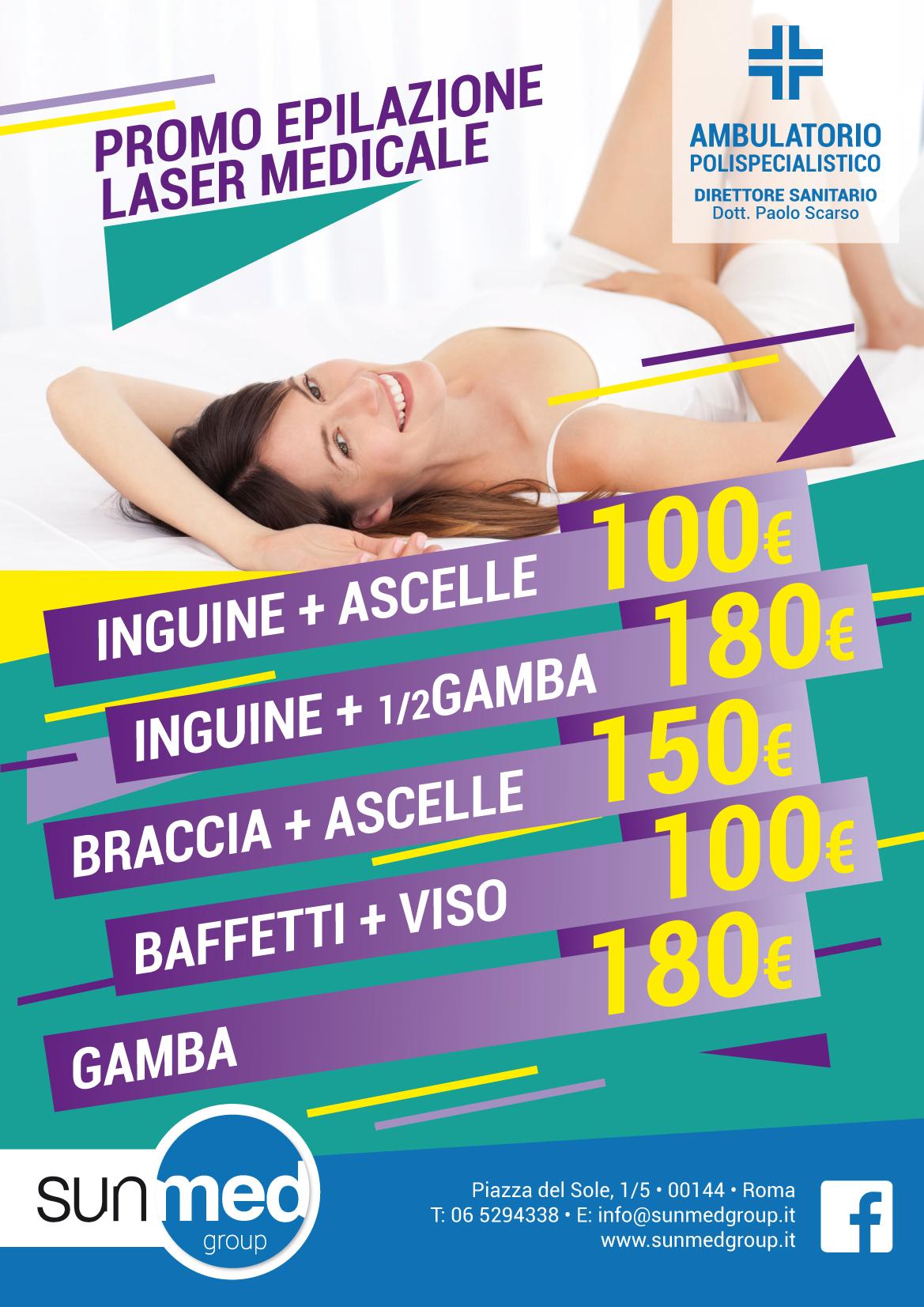 Offerta Epilazione Laser Medicale Roma EUR Torrino